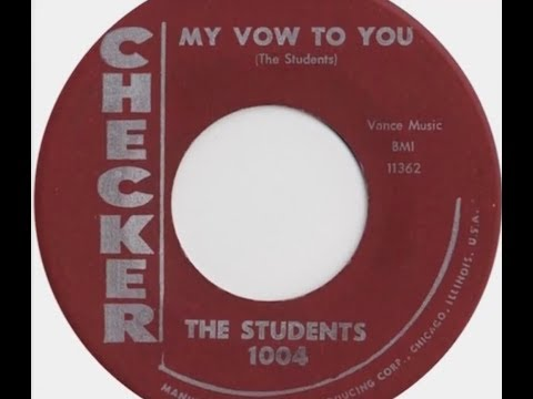 The Students - My Vow To You (1956 Doo Wop Gold) HD