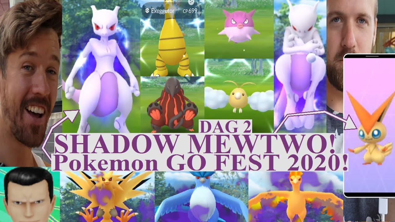 Pokemon GO på Svenska | FÅNGAR SHADOW MEWTOW! | Pokemon GO FEST 2020 DAG 2 |#2| Johans Pokemon GO