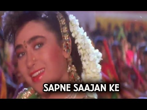 Title Song (Video Song) | Sapne Saajan Ke | Karisma Kapoor | Salman Khan