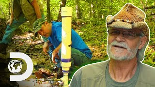 How To Create A Water Pump Using Only Gravity | Moonshiners