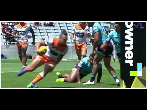 (HD) NRL Auckland Nines 2017 | Wests Tigers v Broncos | Game 21 | Game Highlights | Rugby League