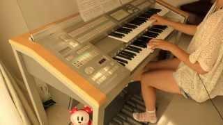 【OLA!!】ゆず 「クレヨンしんちゃんオラの引越し物語」主題歌 エレクトーン演奏 (中3) thumbnail