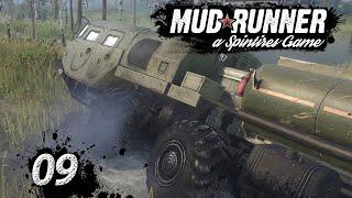 Spintires MudRunner | GEILES Fahrzeug, noch mehr Wasser ► #9 Off-Road Simulator deutsch german
