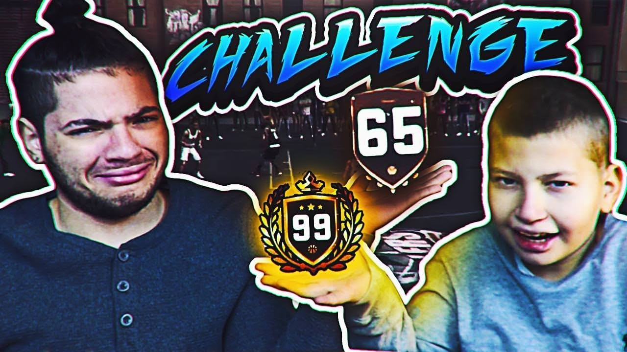 1v1 JAYDEN VS MINDOFREZ!! 60 OVERALL VS 99 OVERALL!! GAME OF THE ...