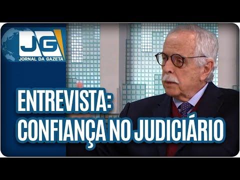 Maria Lydia entrevista o jurista Modesto Carvalhosa, sobre a confiança da população no Judiciário