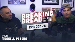 RUSSELL PETERS IS A FUNNY MOTHERF**KER! Breaking Bread w/ Nick Turturro #8