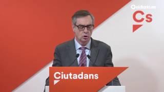 Ciudadanos apoyará la moción de censura del PSOE-RM si es para convocar elecciones