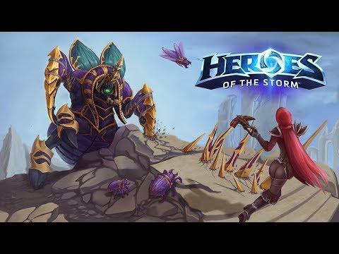 видео: Нуб Ануб - Лига героев в heroes of the storm