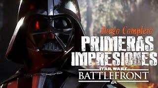 STAR WARS BATTLEFRONT | LO MEJOR Y LO PEOR (Juego Completo)