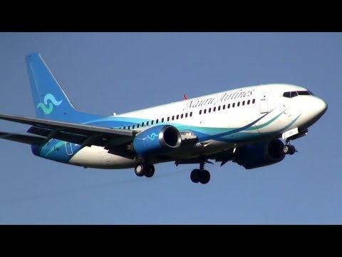 Nauru Airlines ► Boeing 737-300 ► Landing ✈ Auckland Airport