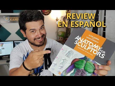 Review Anatomy for Sculptors en español