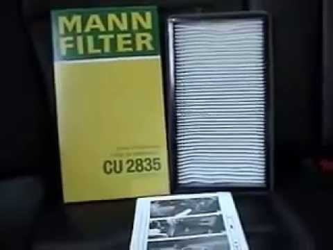 Cabin Air Filter >> BMW E36 Cabin Filter Replacement - YouTube