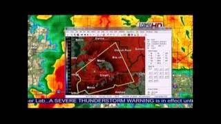 Daniel Phillips KATC Breaking Weather Tornado Warning