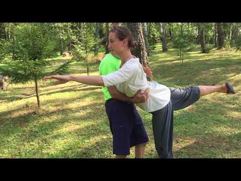 Martial artist vs Russian ballet dancer
