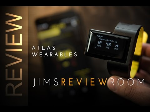 Atlas Wearables Weight Lifting Tracker - REVIEW - YouTube