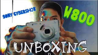 UNBOXING AND REVIEW OF SONY CYBERSHOT W800