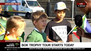 RWC Trophy tour | Boks to begin Rugby World Cup trophy tour in Pretoria