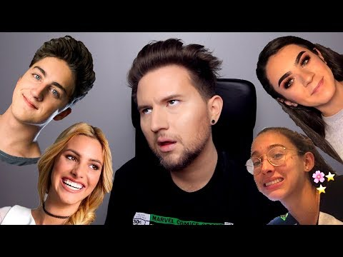 Reacting to Youtubers I Don't Watch 5