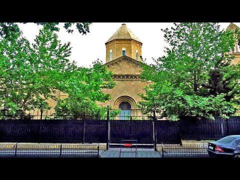 Армянская церковь в центре Баку