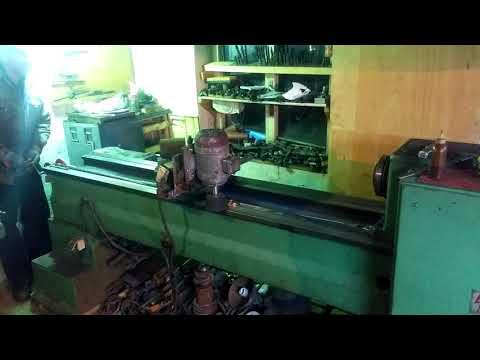 Lathe bed restoration 2 / шлифоване на износени паралели 2