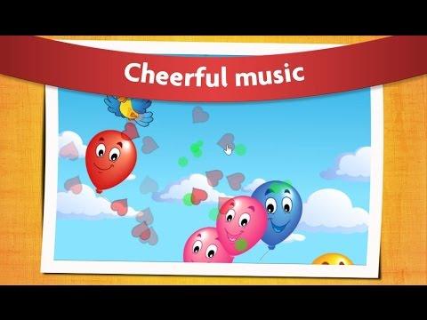 Детские игры Balloon Pop Лопаем Шарики Игра для Малышей