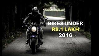 Best Bikes Under 1 Lakh in India 2016