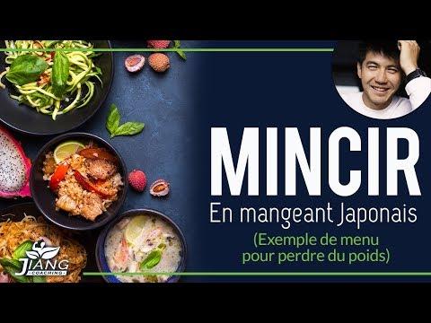 Mincir : Manger Japonais (Exemple de menu pour perdre du poids)