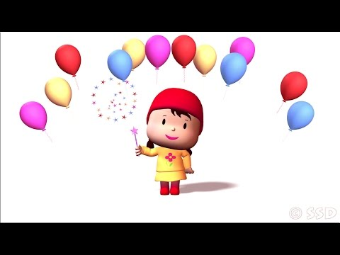 Happy Birthday Animation - Birthday Wishing Video - Birthday Song Cartoon Video