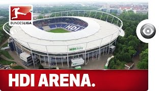 The Home of Hannover 96 - Stadium Flyover with an Exclusive Look Inside