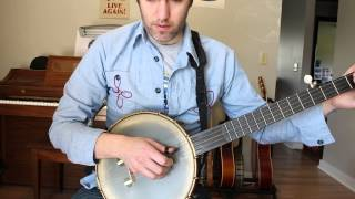 Basic Folk Banjo Fingerpicking Tutorial