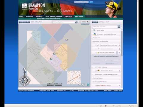 Instructional Video for Brampton Maps and Visual Fusion