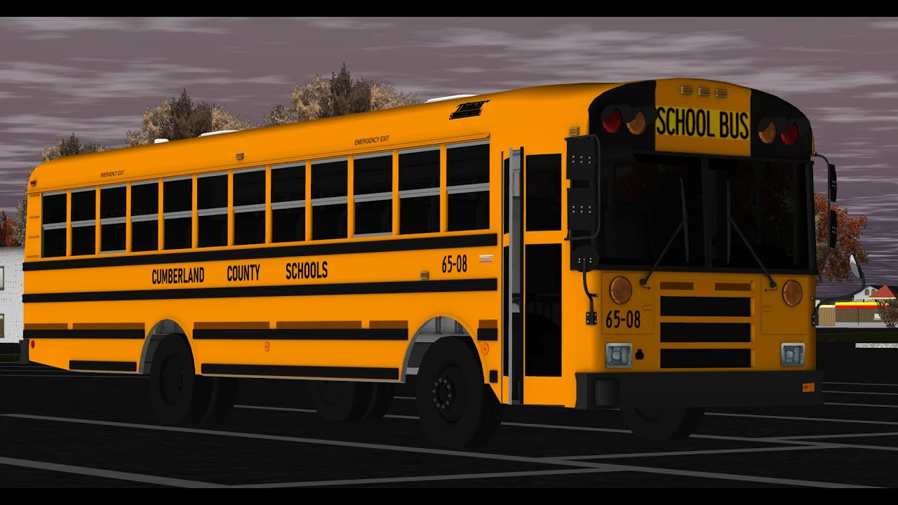 Practicing A Brand New Route | 2008 Thomas EF Bus 65-08 | Rigs of Rods!
