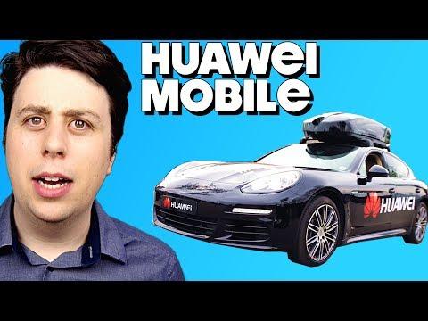Huawei Smartphone-driven Car - HUAWEIMOBILE