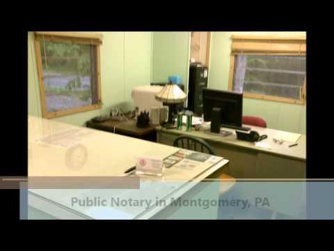 Public Notary Montgomery PA Sharon's Notary
