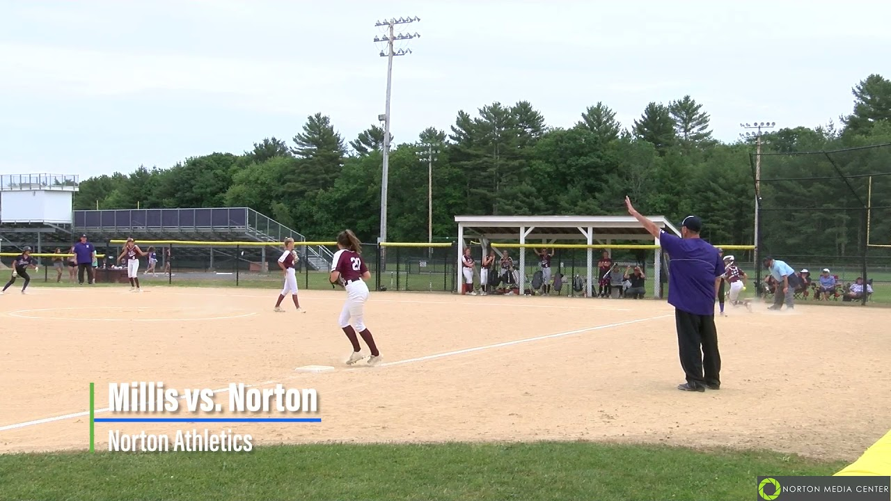 Millis vs. Norton ~Girls Varsity Softball06/11/2021