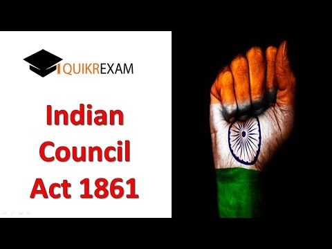 indian council act 1861