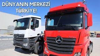 TÜRKİYE'DE ÜRETİLİP, DÜNYAYA GÖNDERİLİYOR! - Mercedes-Benz Türk Aksaray FABRİKASINI GEZDİK!