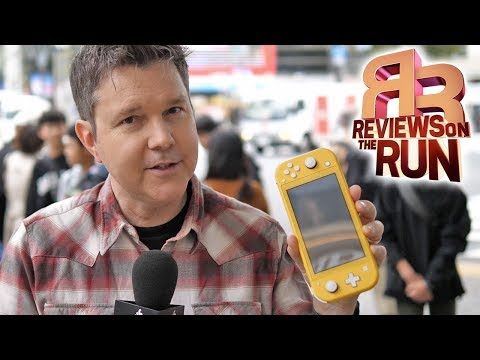 Travelling with the Switch Lite! - Electric Playground Review