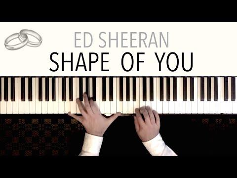 Ed Sheeran - Shape Of You Waltz Wedding  featuring Pachelbel&39;s Canon  Piano Cover