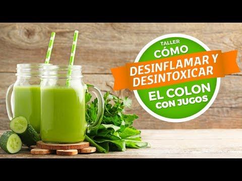 Cmo desinflamar y desintoxicar el colon con jugos