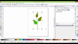 6 клас  Урок 6  Створення листка у Inkscape