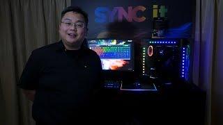 CORSAIR @ COMPUTEX 2017: SYNC it