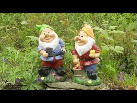 Funny Garden Ornament - Whistling Gnomes
