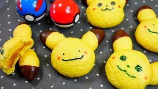 Pikachu and Ditto Food Art Bread オブラートアートで ピカチュウ メタモン パン