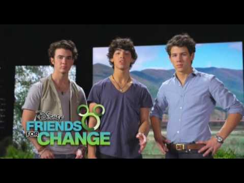 Join Disney&39;s Friends for Change - Jonas Brothers