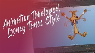 AnimDojo Looney Tunes Style Animation Experiment