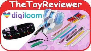 Digiloom Starter Kit Bracelet Headband Scrapbooking Maker App Unboxing Toy Review by TheToyReviewer