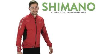 Shimano Compact Windbreaker Cycling Jacket (For Men)