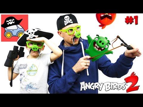 🐽 #1 ПЕРНАТЫЕ ХОЛМЫ. Энгри Бердс 2. Прохождение игры Angry Birds 2 — Жестянка