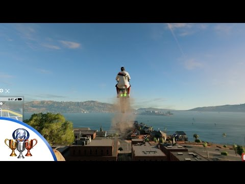 Watch Dogs 2 - Jump Around Trophy - 140 Meter Jump in a Vehicle Location